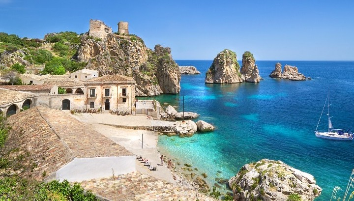 Scopello in western Sicily