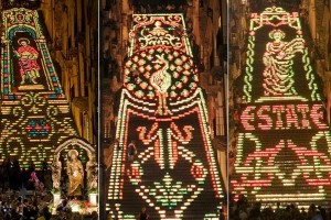 La Scala Illuminata in Caltagirone