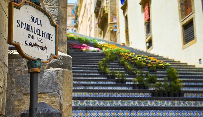 Caltagirone, Scala di Santa Maria del Monte