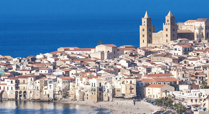 Landscape City of Cefalù