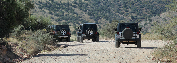 4 x 4 jeep tour