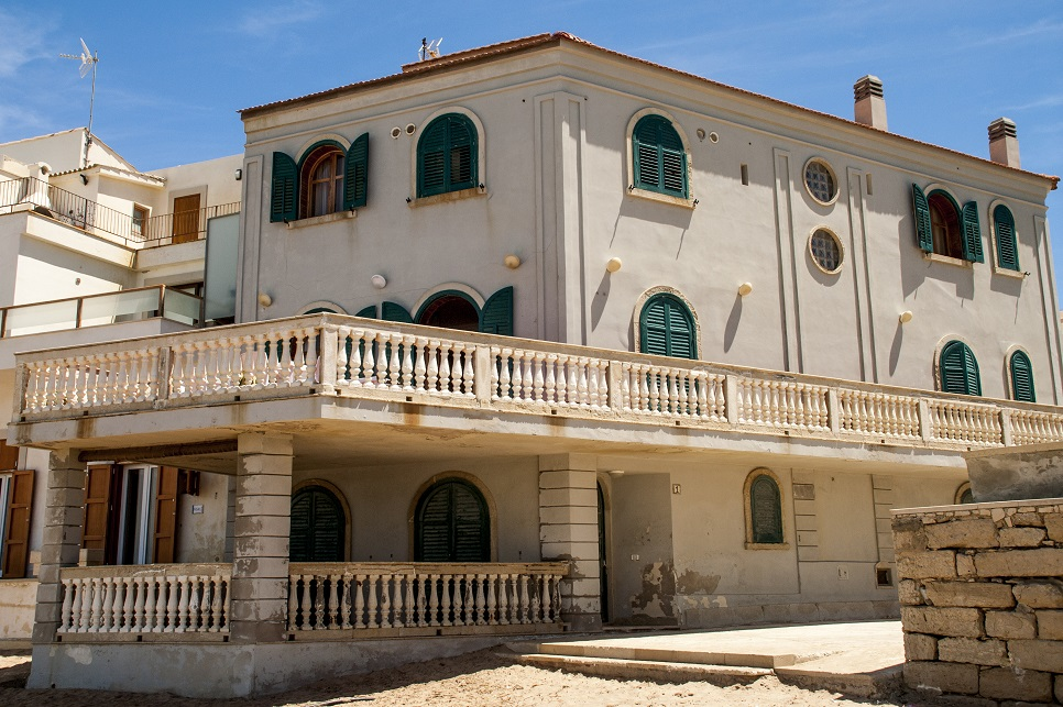 Montalbano's house in Punta Secca beach
