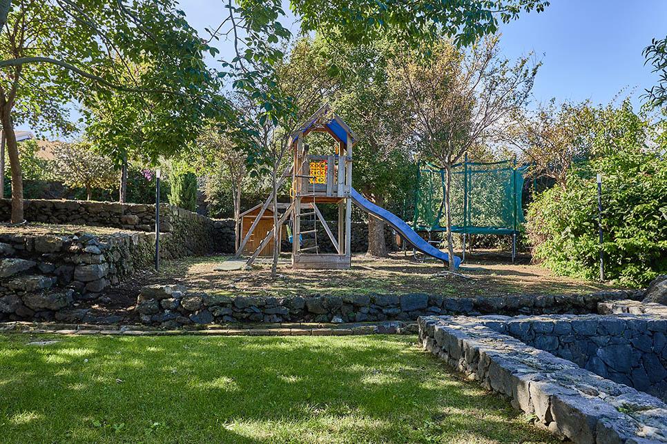 Children's play area at Casa Dei Sogni, Acireale