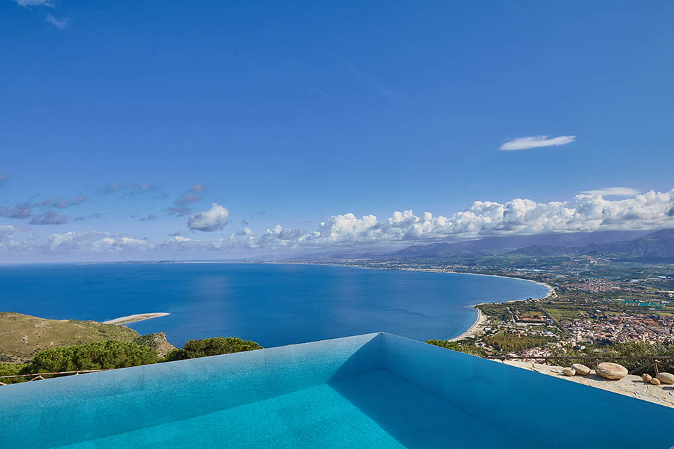 luxury villa in sicily Dionisio is available exclusively through wishsicily.com