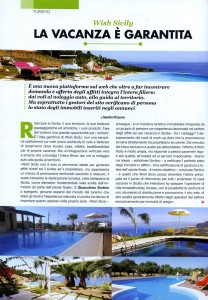 Wish Sicily in Cult magazine Sicilia