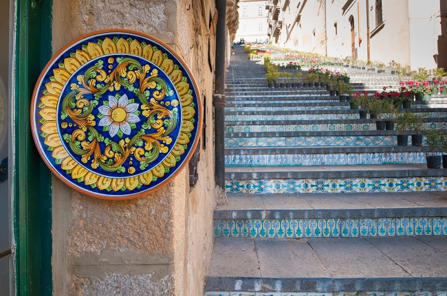 Caltagirone: hand-painted ceramics and the Scalinata