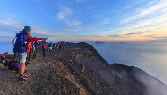 Hiking in Stromboli, Aeolian islands