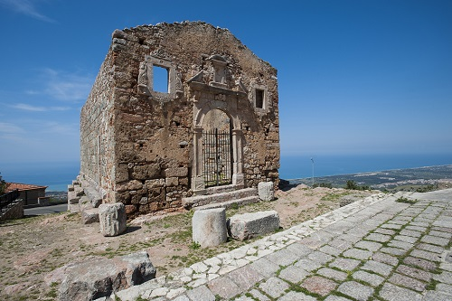 Ruins of ancient church near San Marco d'Alunzio