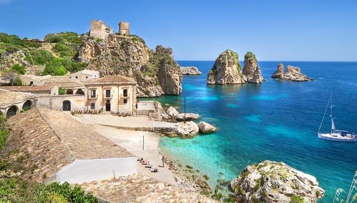 Scopello in western Sicily
