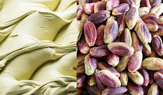 pistachio-based ice-cream