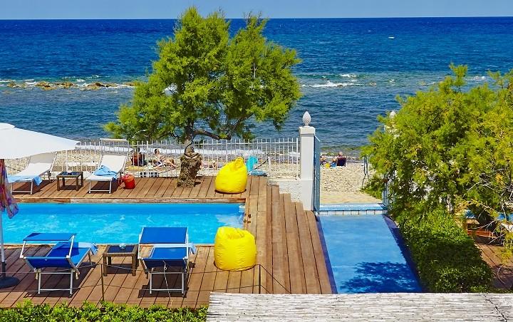 Beachfront villa in Sicily - Casa dei Nomadi