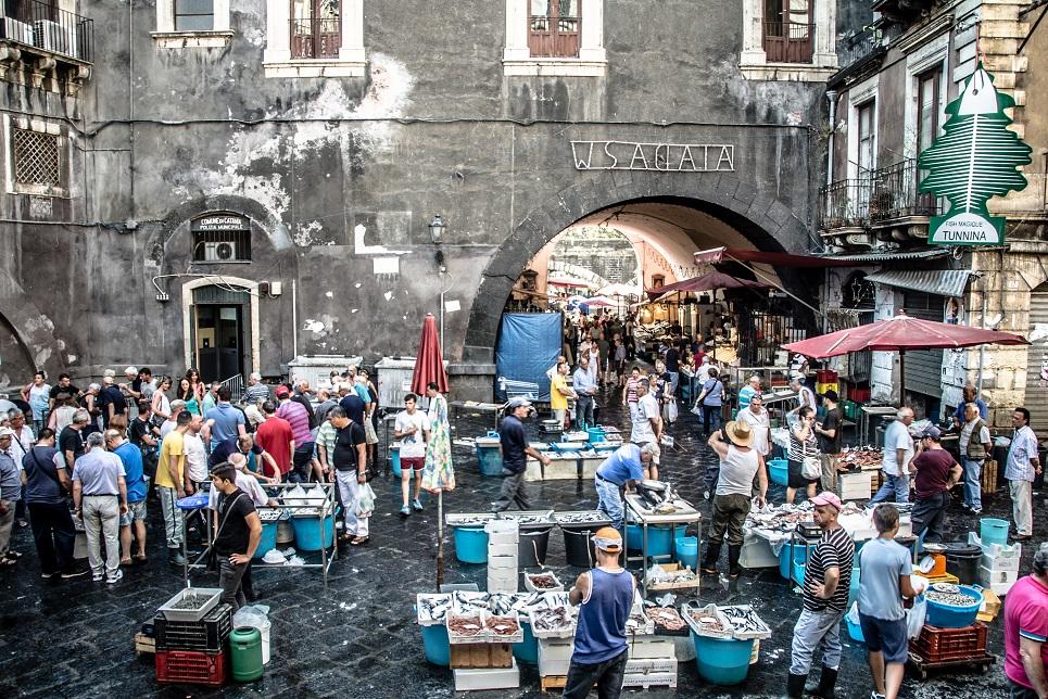 Catania market La Pescheria