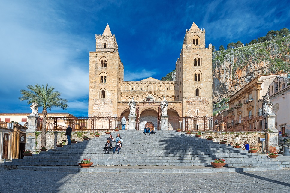 The cathedral of Cefalù