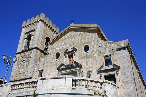 The Duomo of Montalbano Elicona in Sicily