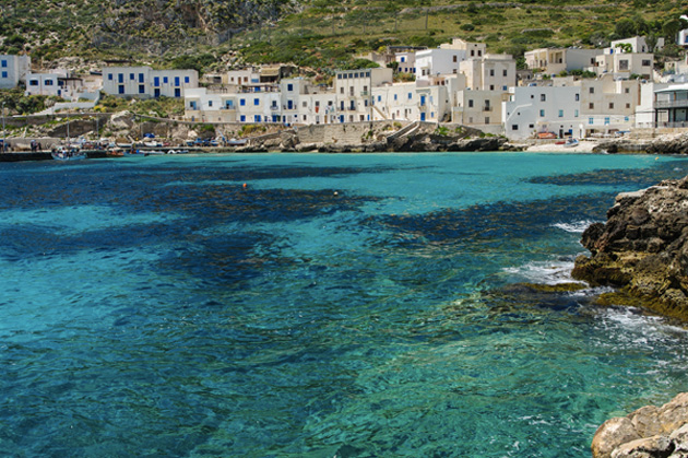 Island of Levanzo - seaside view