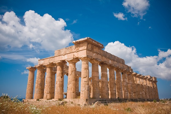 Greek temple in Selinunte