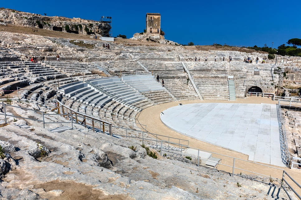 Greek theatre of Siracusa, Sicily