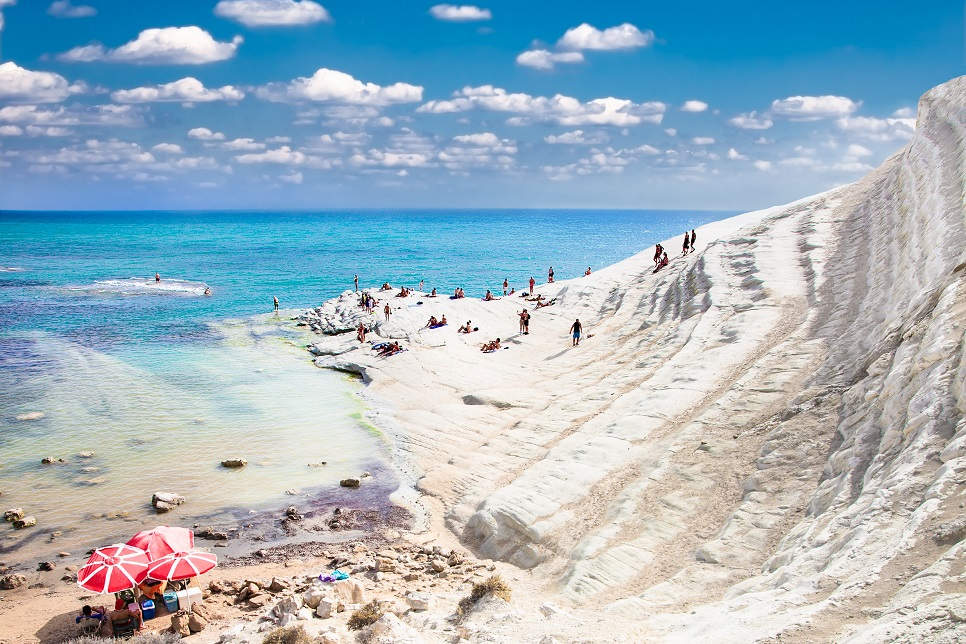 The Turkish Steps (Scala dei Turchi)