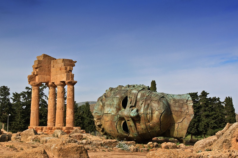 The Valley of the Temples in Agrogento