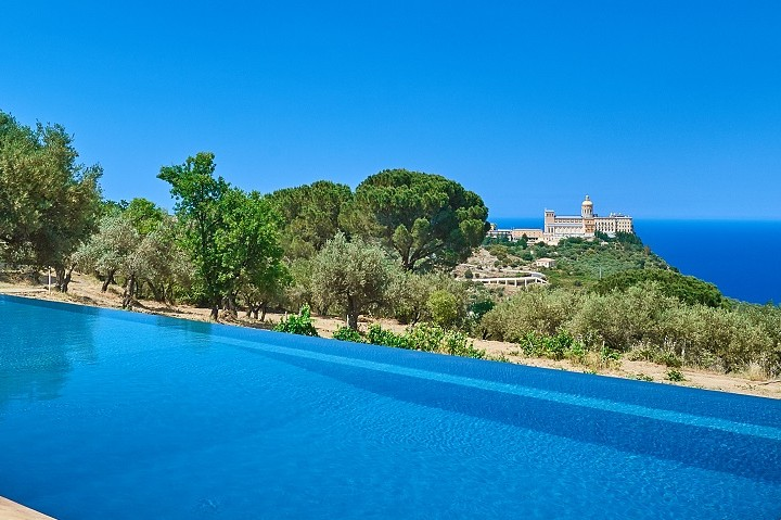 Luxury sicily villa Dioscuri