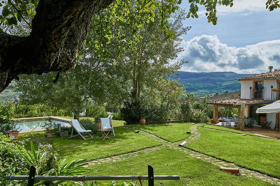 Villa Olmo, Castel di Lucio