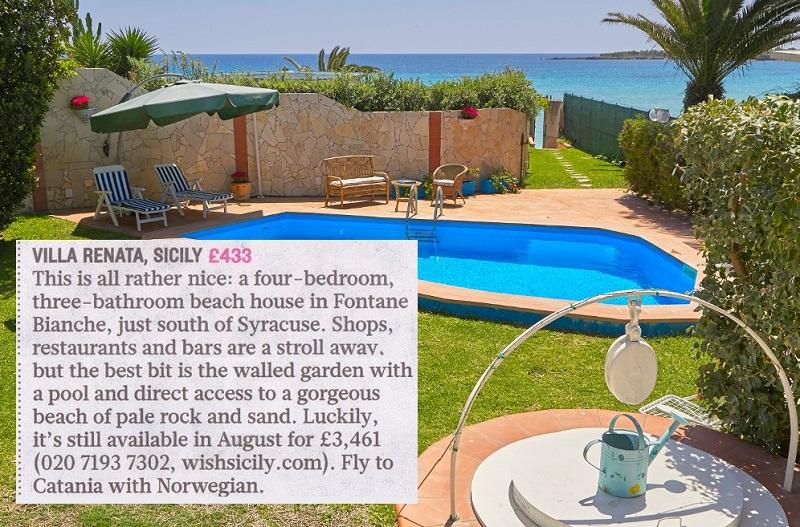Wish Sicily Villa Renata