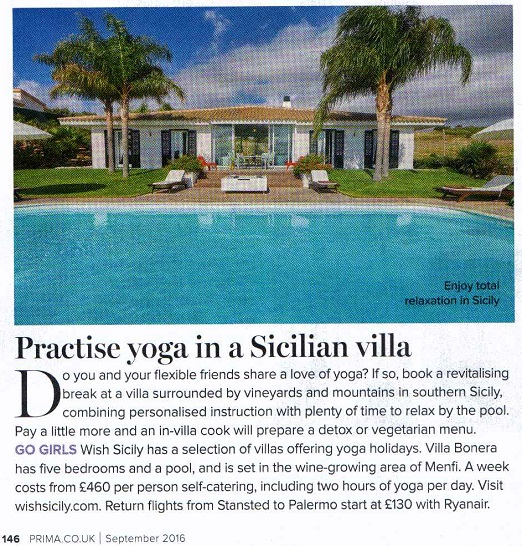 Not Just For Girls Yoga Retreats In Sicily Blog Wish Sicily