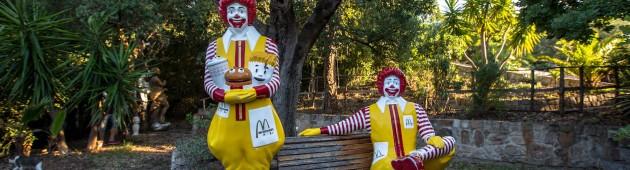 Ronald McDonald at Villa Arte Mare Blu