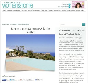 Le Case di Tindari listed on Woman & Home