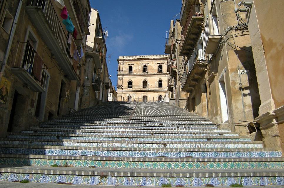 Caltagirone, путеводитель по Сицилии