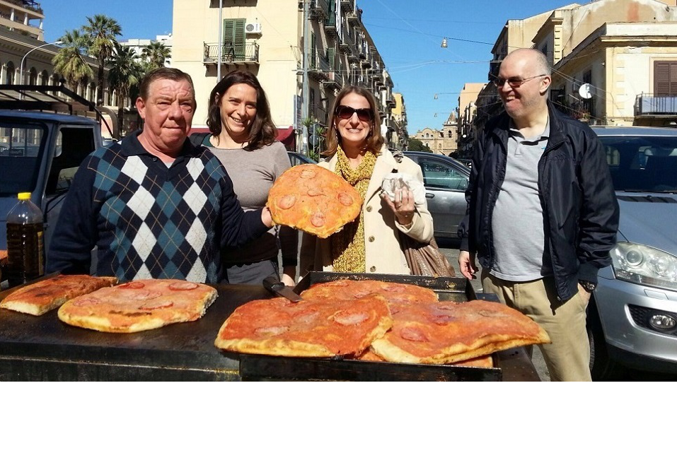 Street food tour in Sicily