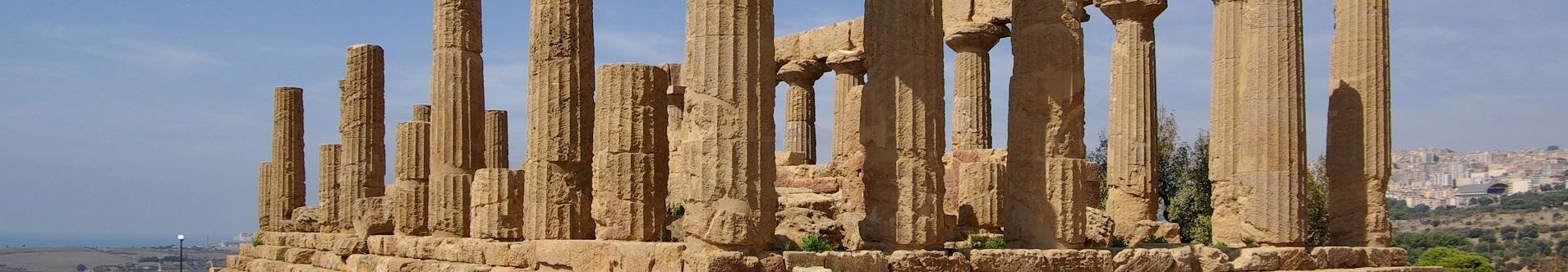 Ville in Sicilia vicino la Valle dei Templi
