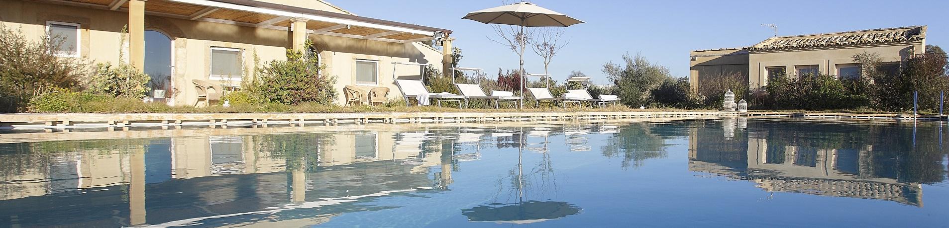 Ville in Sicilia con piscina vicino Siracusa