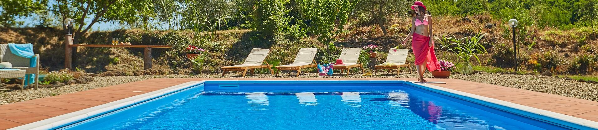 Ville in Sicilia con piscina vicino Catania