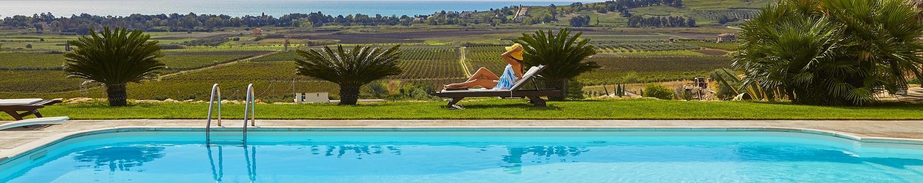 Ville in Sicilia con piscina