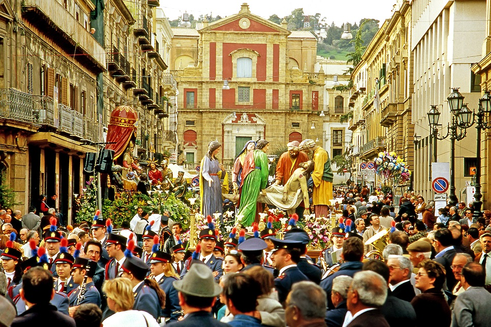 Image result for easter in sicily