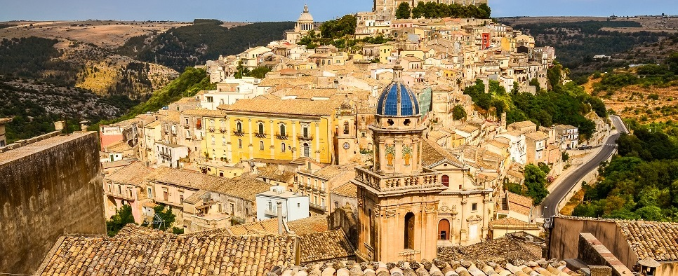 Towns and cities in Sicily