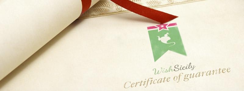 La Certificazione di garanzia
