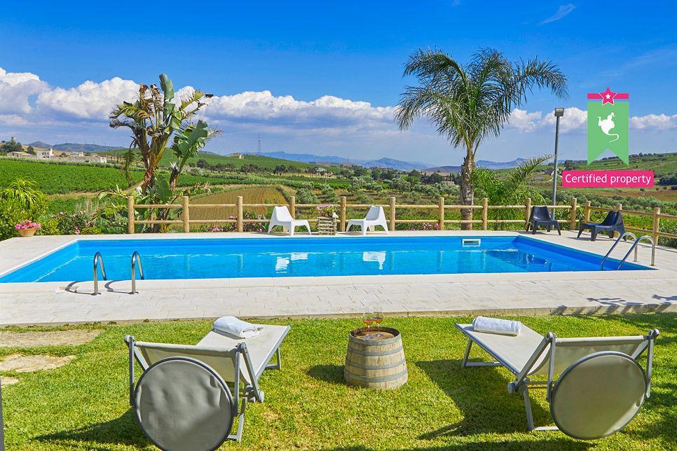 Villa Il Baglio Siciliano Alcamo 24308