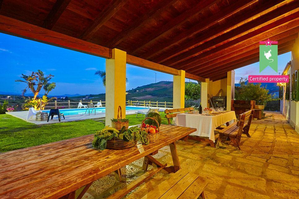 Villa Il Baglio Siciliano Alcamo 24305