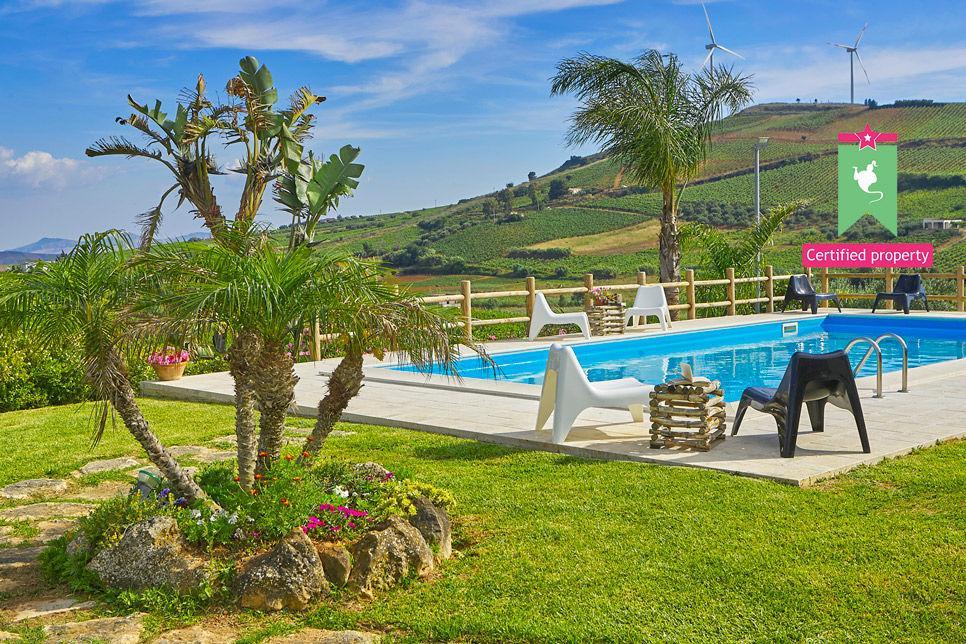 Villa Il Baglio Siciliano Alcamo 24309