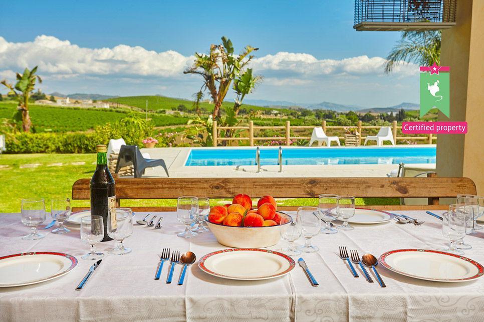Villa Il Baglio Siciliano Alcamo 24307