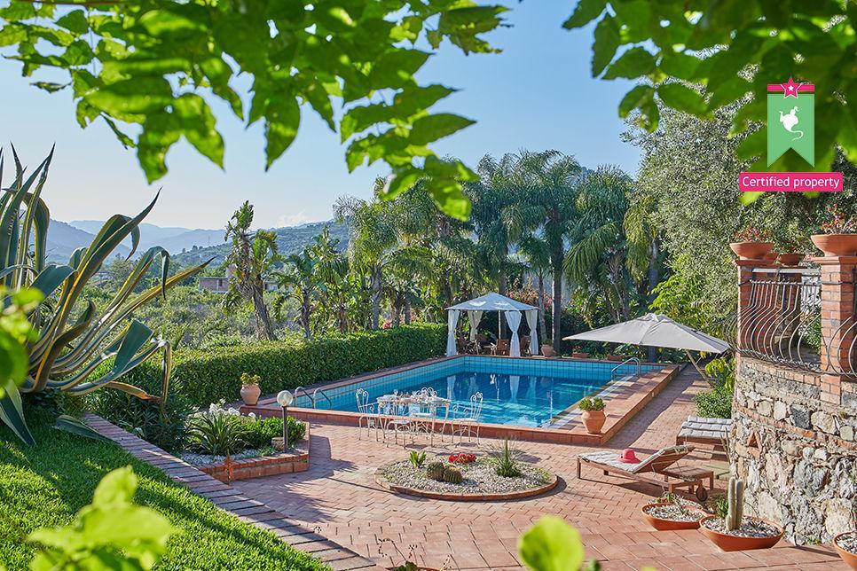 Villa Calipso Taormina 25465