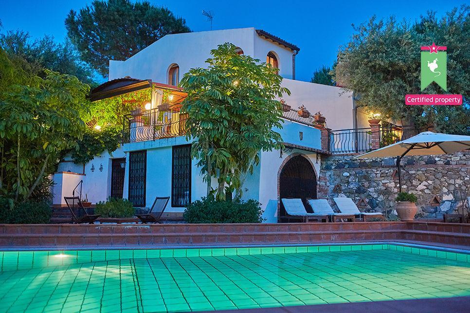 Villa Calipso Taormina 25462
