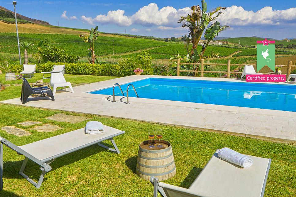Villa Il Baglio Siciliano Alcamo 24310