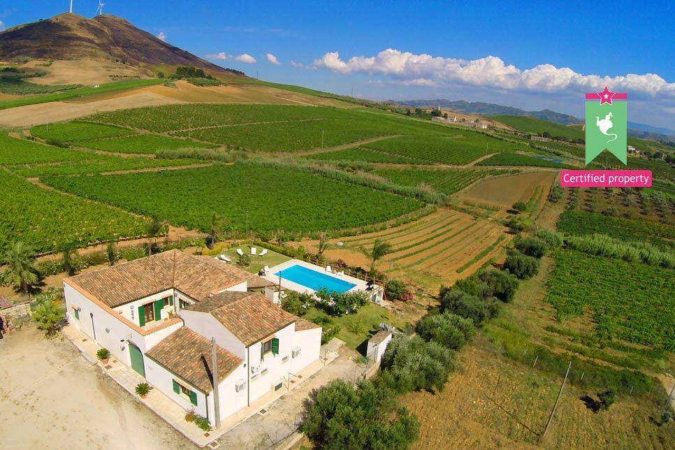 Villa Il Baglio Siciliano Alcamo 20165
