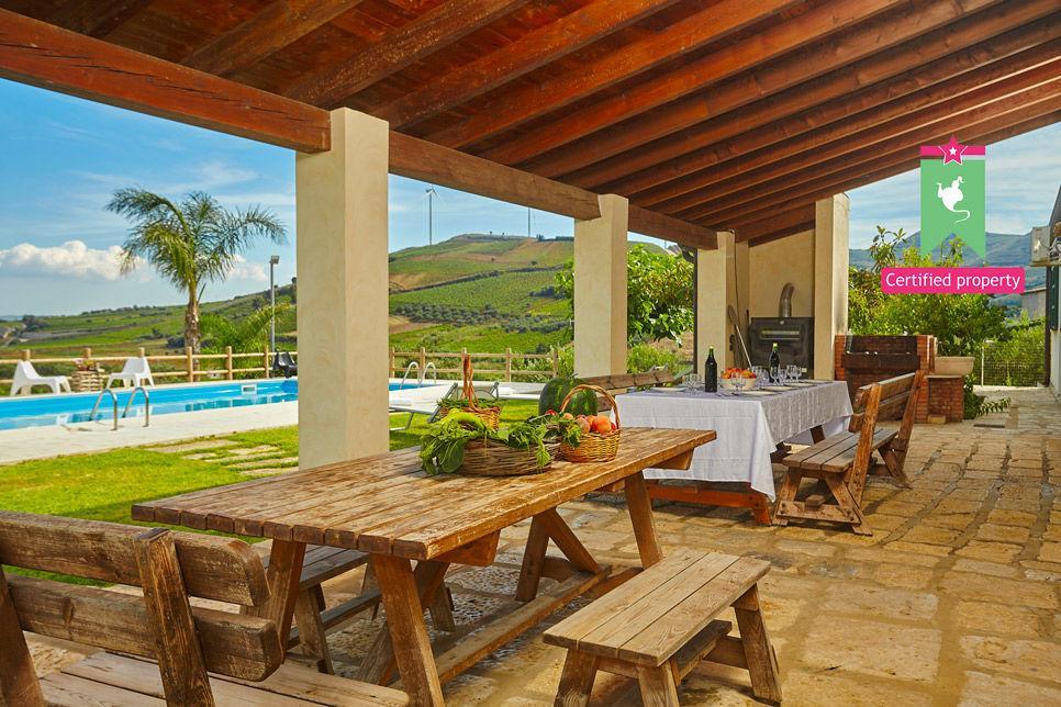 Villa Il Baglio Siciliano Alcamo 24313