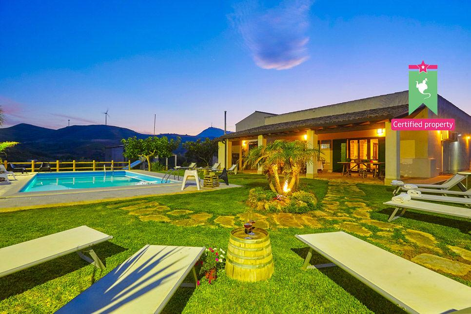 Villa Il Baglio Siciliano Alcamo 24317
