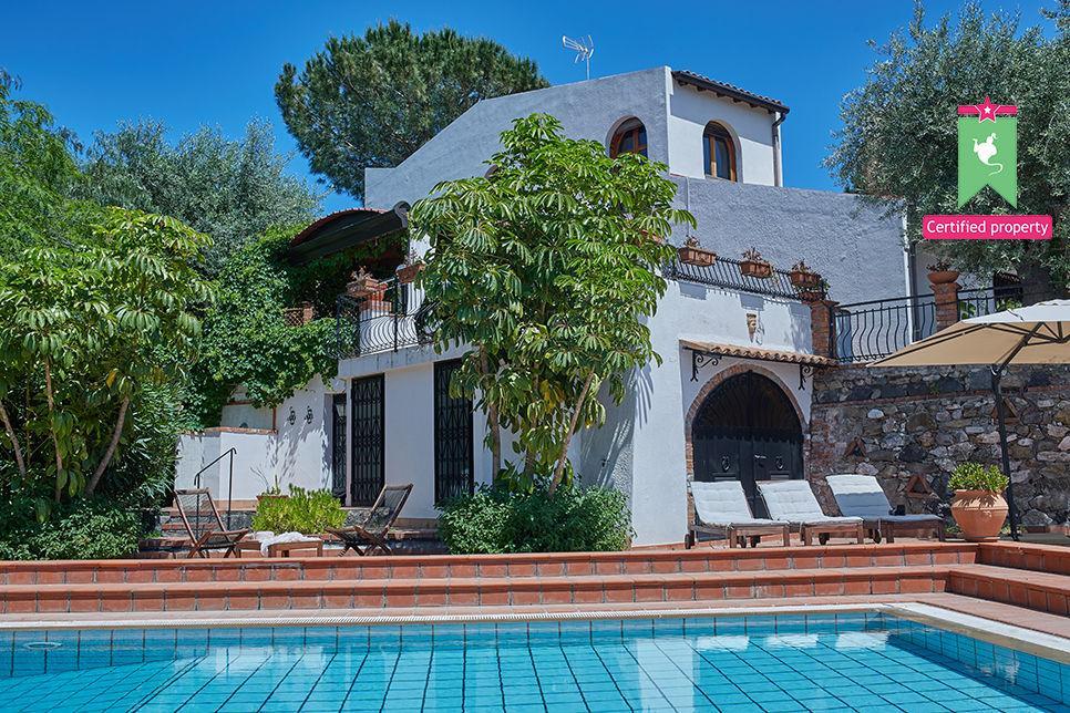 Villa Calipso Taormina 25479