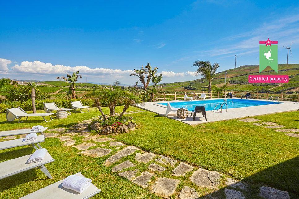 Villa Il Baglio Siciliano Alcamo 24320